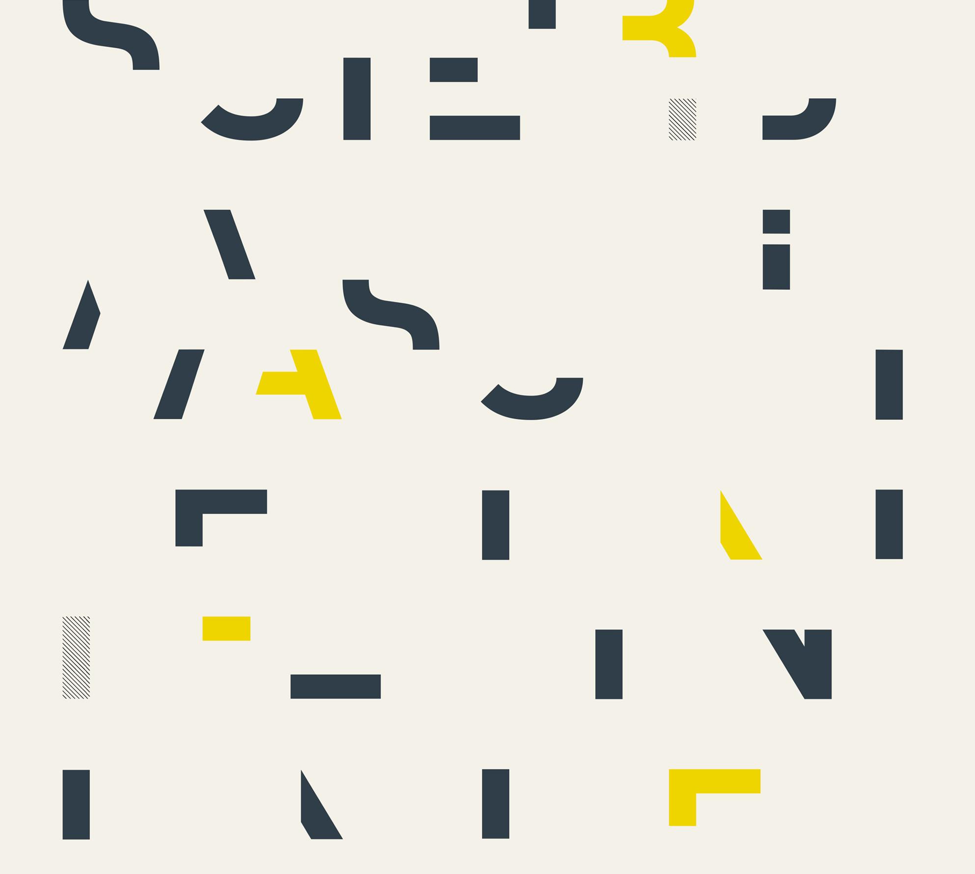 Couverture typographique